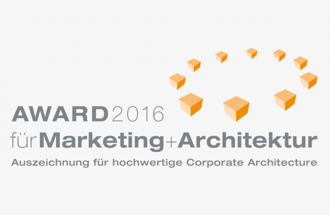 Award Marketing und Architektur 2016